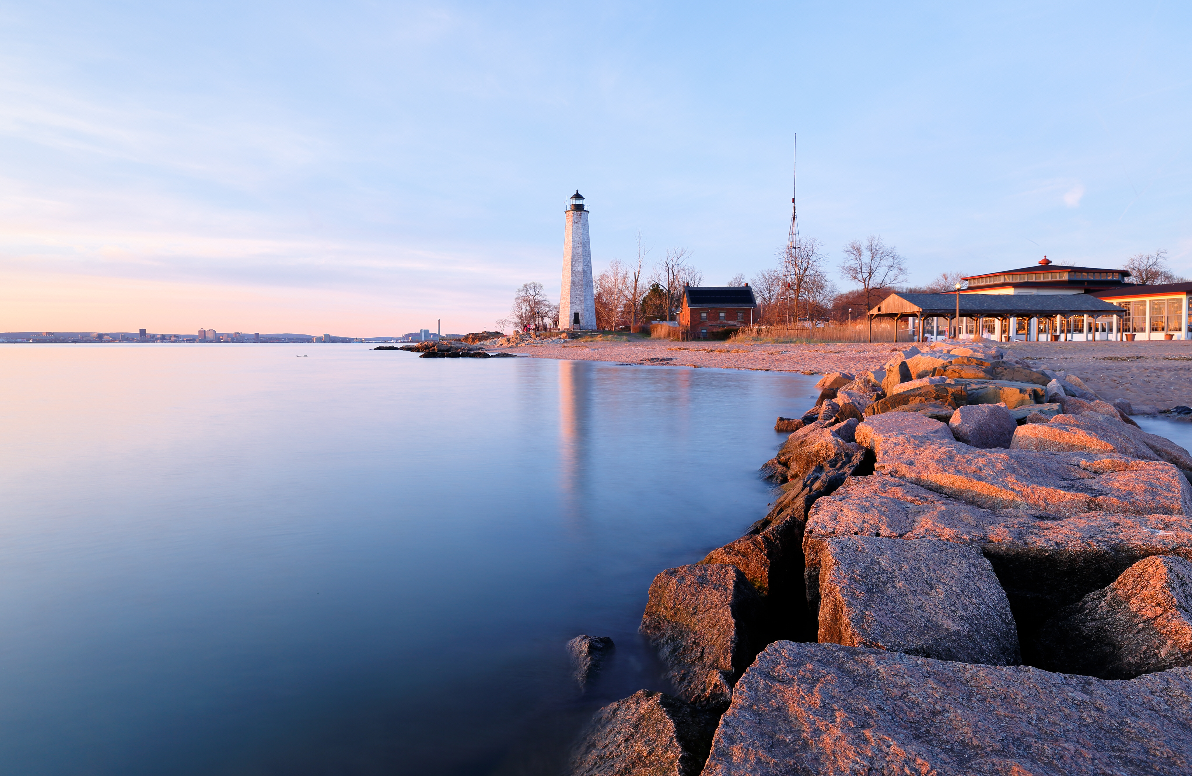 Connecticut-New-Haven-Lighthouse
